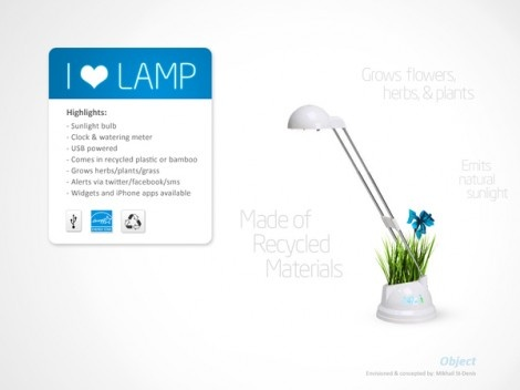 ghiveciul i love lamp