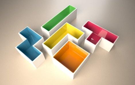 ghivece tetris