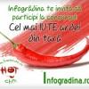 Concurs Infogradina - castiga produse din ardei iute