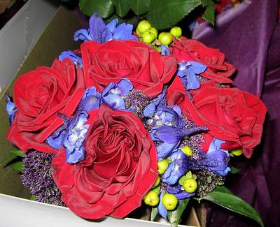 Aranjament floral de toamna