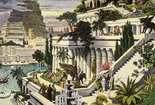 Gradinile suspendate din Babilon