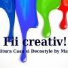 """Decostyle si Editura Casa te invita la concursul """"Fii creativ!"""""""