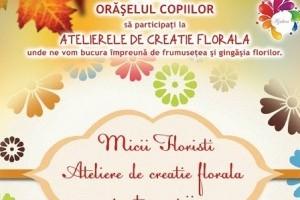 Ateliere florale pentru copii!