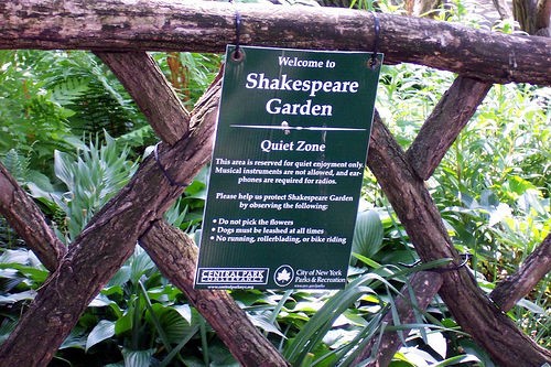 Gradina lui Shakespeare