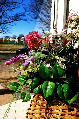 Buchet din flori artificiale