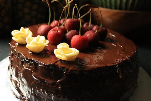 tort ciocolata cu cirese